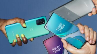 صورة رسميًا – إطلاق هاتف ون بلس 8T مع شاشة 120Hz وشحن سريع 65W في مقابل أقل من $600