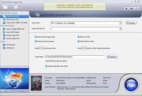 نسخ مجانية وخصم كبير على برنامج WinX DVD Copy Pro لصناعة نسخ احتياطية من اسطواناتك