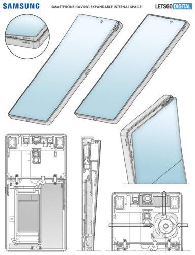 براءة اختراع جديدة من سامسونج تكشف عن مستقبل سلسلة جالكسي S