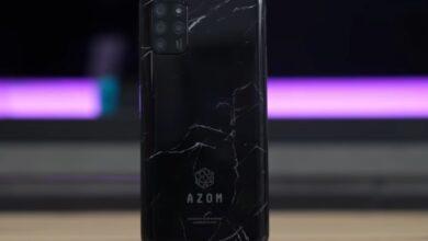 شركة سعودية تطلق هاتف ذكي باسم Azom Desert 2 وبسعر 799 ريال