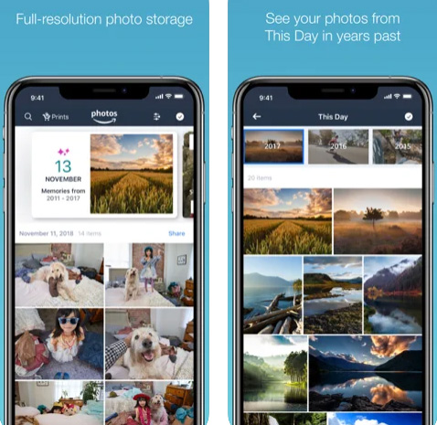 تطبيق Amazon Photos استمتع بـ 5 جيجابايت لتخزين صورك