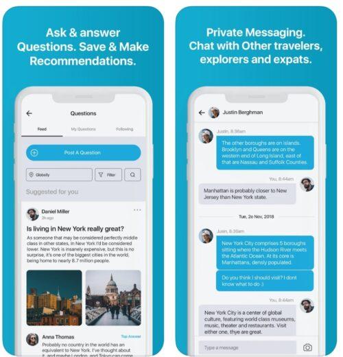 تطبيق كامبسي Cambassy - شبكة اجتماعية عالمية من أجل محبي السفر والسياحة والترفيه!