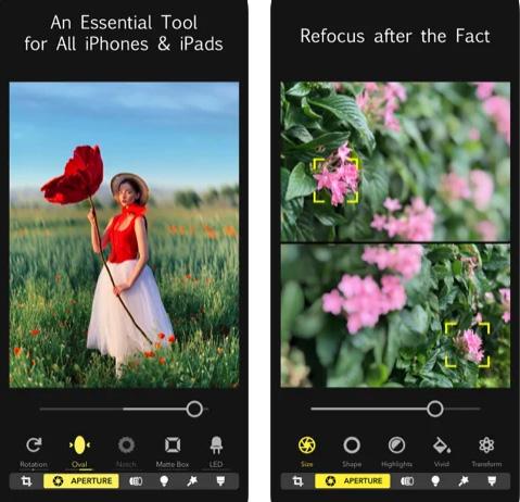 تطبيق Focos محرر صور احترافي
