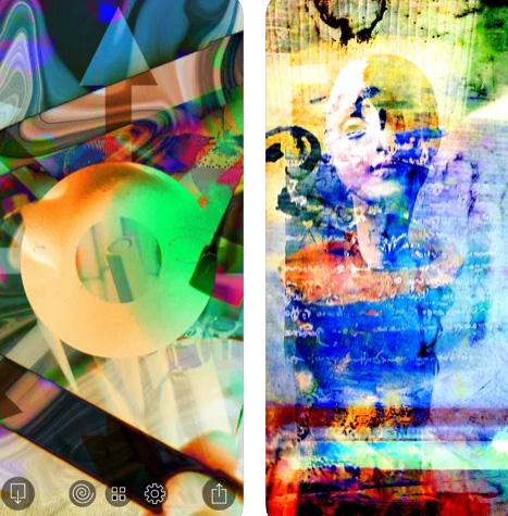 تطبيق FotoDa لإنشاء فن تجريدي من صورك