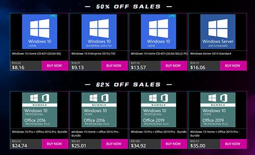 عروض البلاك فرايداي - مايكروسوفت ويندوز 10 و أوفيس 2019 متاح الآن بأرخص الأسعار تبدأ من 8$ فقط!