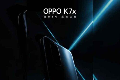 الإعلان رسميًا عن هاتف أوبو K7x مع شاشة 90 هيرتز ومعالج مميز