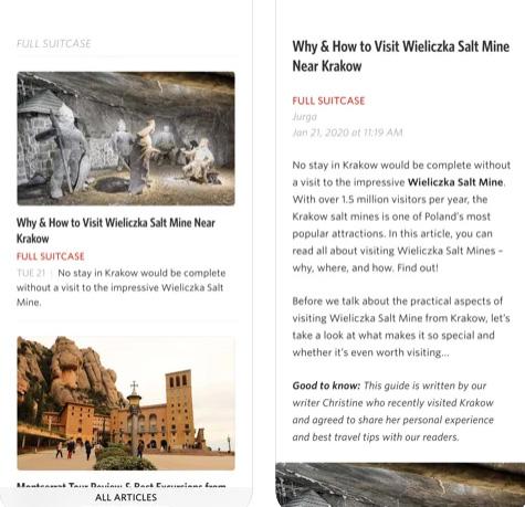 تطبيق Unread قاريء المواقع والأخبار