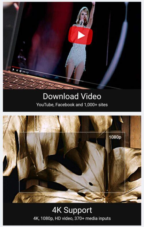 أهم مميزات برنامج WinX HD Video Converter Deluxe
