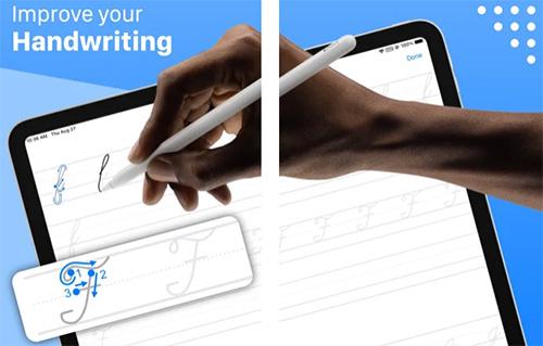 تطبيق Writey لتحسين خط اليد (للايباد فقط)