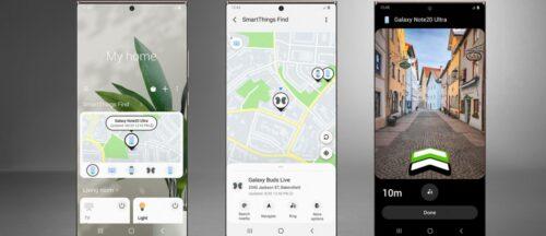 سامسونج تطلق تطبيق SmartThings Find لإيجاد الهاتف أو السماعة حتى ولو غير متصلين