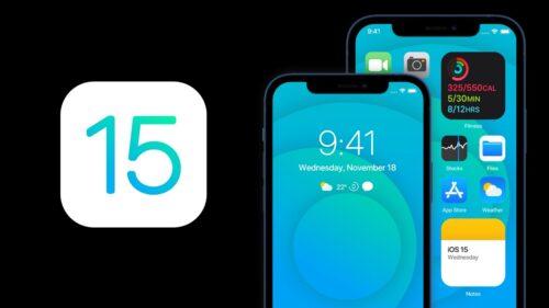 تسريبات - هواتف الايفون التي ستحصل على تحديث iOS 15 .. ليس بينها ايفون 6s و SE !