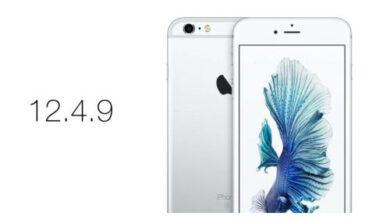 ابل تطلق تحديث iOS 12.4.9 للأجهزة القديمة - تحديث مهم!