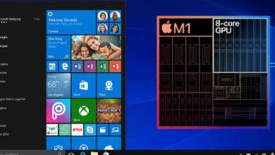 هل يمكن أن نرى نظام ويندوز على أجهزة ماك الجديدة بمعالج M1 ؟