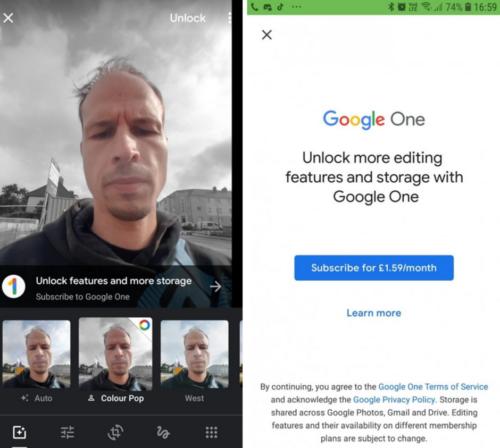 جوجل تخطط لجعل بعض مميزات تطبيق Google Photos مدفوعة