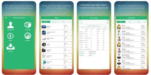 تعرف على تطبيق Daily Sales Record الاحترافي لتسجيل المبيعات ومتابعة العملاء