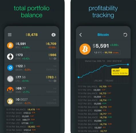 تطبيق Bitstat لتتبع أسعار العملات الرقمية