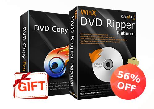 برنامج WinX DVD Ripper Platinum أفضل برنامج لنسخ أقراص DVD بسهولة - عروض حصرية رائعة!