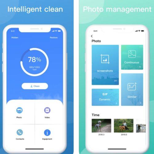 تطبيق Cleaner لتوفير المساحة التخزينية على الايفون والايباد وحذف الملفات الغير ضرورية!