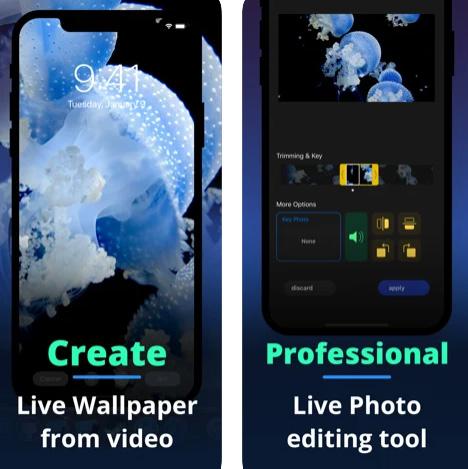 تطبيق Live+ لإنشاء صور حية