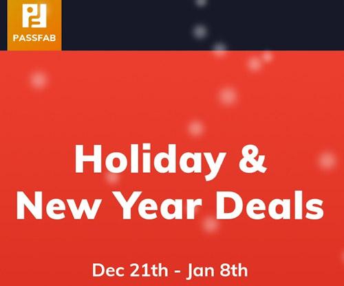 عروض رأس السنة من شركة PassFab - خصومات كبيرة وترخيص مجاني لك!