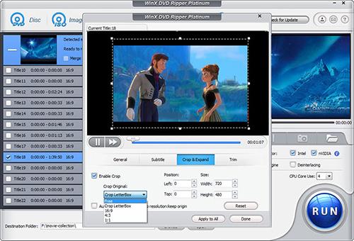 مميزات برنامج WinX DVD Ripper Platinum