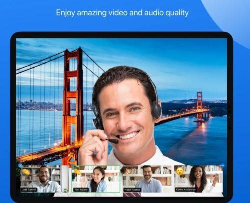 تطبيق زووم Zoom الشهير للاجتماعات واللقاءات عبر الإنترنت