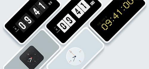 تطبيق iClock-Desktop Clock - ويدجت الساعة