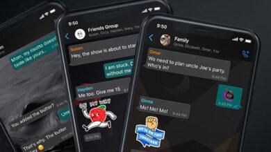 تحديث واتس اب - خلفيات جديدة رائعة وإمكانية إضافة خلفية لكل محادثة على حدى!