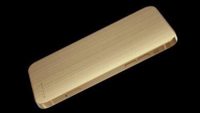 طرح ايفون 12 برو من الذهب و التيتانيوم بدون كاميرا بسعر 5000 دولار أمريكي!