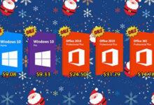 تخفيضات نهاية العام – أكبر خصم على منتجات مايكروسوفت ويندوز 10 و أوفيس 2019