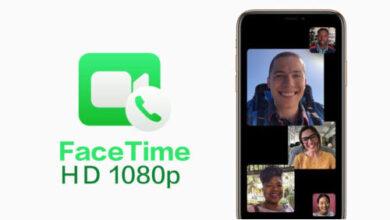 تطبيق فيس تايم - الآن يمكن عمل مكالمات الفيديو بجودة Full HD عبر الوايفاي!