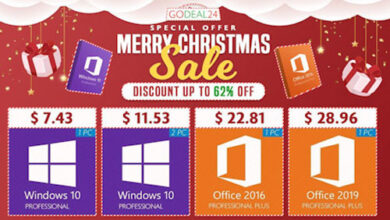 عروض حصرية - مفاتيح تفعيل ويندوز 10 وأوفيس بخصم يصل إلى 95% وأقل الأسعار الممكنة!