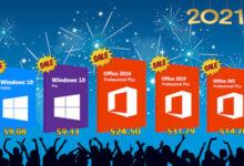 تخفيضات نهاية العام – خصم ضخم على مفاتيح تفعيل مايكروسوفت ويندوز 10 و أوفيس 2019