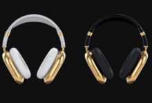سماعات ابل AirPods Max من الذهب بسعر يتجاوز 100 ألف دولار !