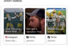 جوجل سيبدأ في عرض فيديوهات تيك توك وإنتسقرام في نتائج البحث
