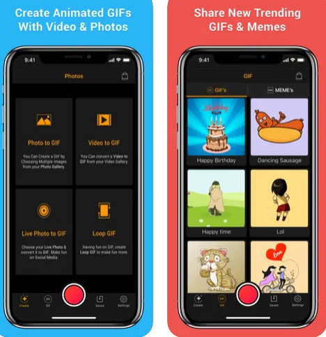 تطبيق GIF Maker لصناعة الصورة المتحركة