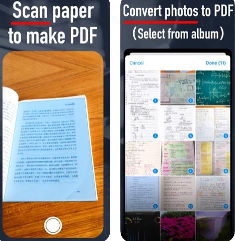 تطبيق Halo PDF لإنشاء ملفات PDF وتصوير المستندات