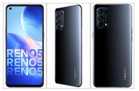 الكشف رسميًا عن نسخة 4G من هاتف أوبو رينو 5 مع معالج SD 720G وشحن سريع 50W
