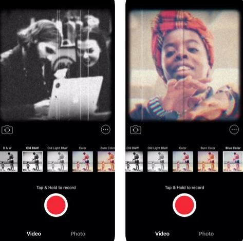 تطبيق SnapCinema لتصوير الفيديو بفلاتر قديمة