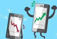 سوق الهواتف الذكية يعاود النمو بعد فترة من الانحدار
