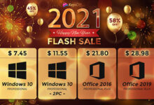 الآن متاح مفاتيح تفعيل ويندوز 10 وأوفيس 2019 بأسعار رخيصة وخصم يصل إلى 90%
