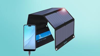 أفضل شواحن الهواتف التي تعمل بالطاقة الشمسية في 2021