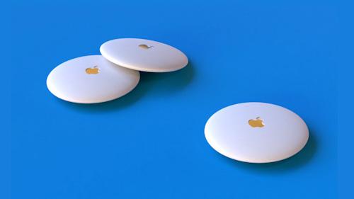سيكون جهاز ابل AirTags دائري صغير الحجم