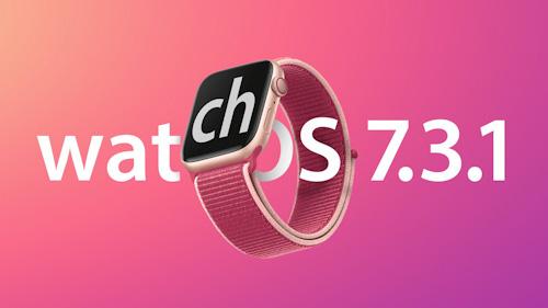 إطلاق تحديث watchOS 7.3.1