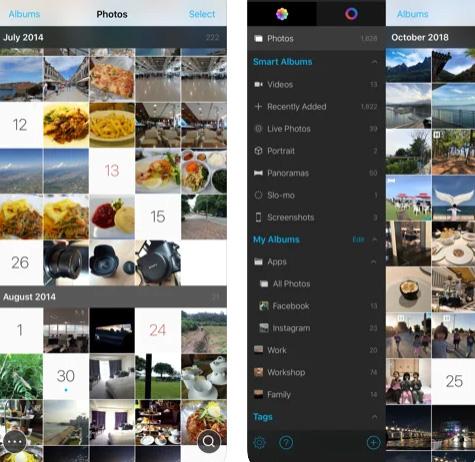 تطبيق HashPhotos لإدارة الصور
