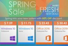 الآن متاح مفاتيح تفعيل ويندوز 10 وأوفيس 2019 بأسعار رخيصة للغاية وخصم هائل لفترة محدودة!