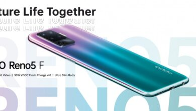 أوبو تبدأ في التشويق لهاتف Reno5 F مع تصميم جديد ومواصفات مميزة