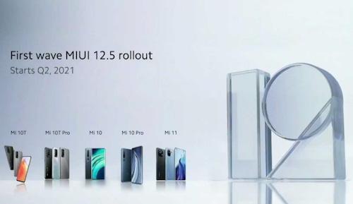 موعد إطلاق تحديث MIUI 12.5