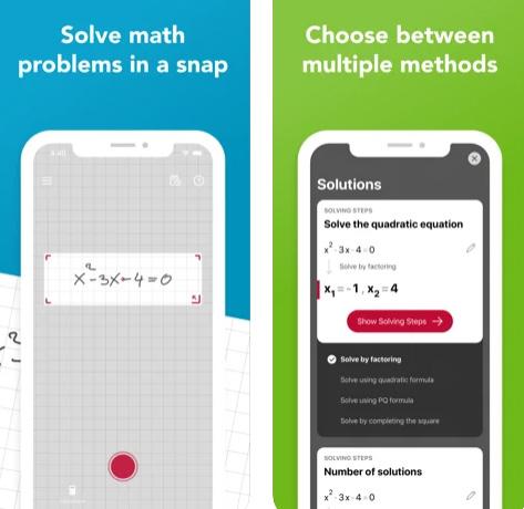 تطبيق Photomath لحل المسائل الحسابية بضغط زر!