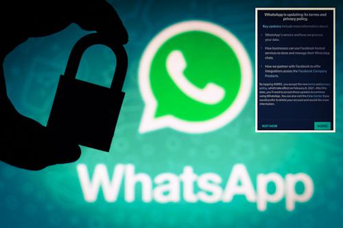 ماذا يحدث في حالة عدم الموافقة على تعديل سياسة الخصوصية في واتس اب؟
